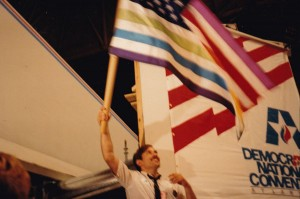 Waving the Rainbow Flag at the 1988 National Convention