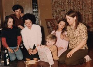 Maggie, Andy, Mom, Coby, Freddie & Murph