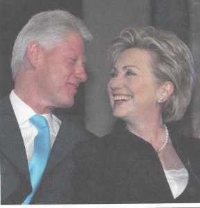 Pretending to be Bill & Hillary