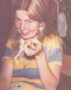 Ellen in grade school - little did she know I already had my eye on her