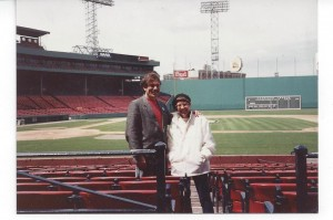 Me and Murph at Fenway Pk